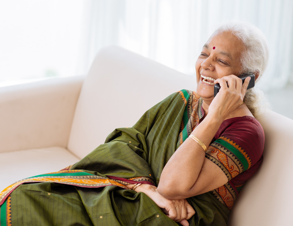 Diabetes Women getting remote care