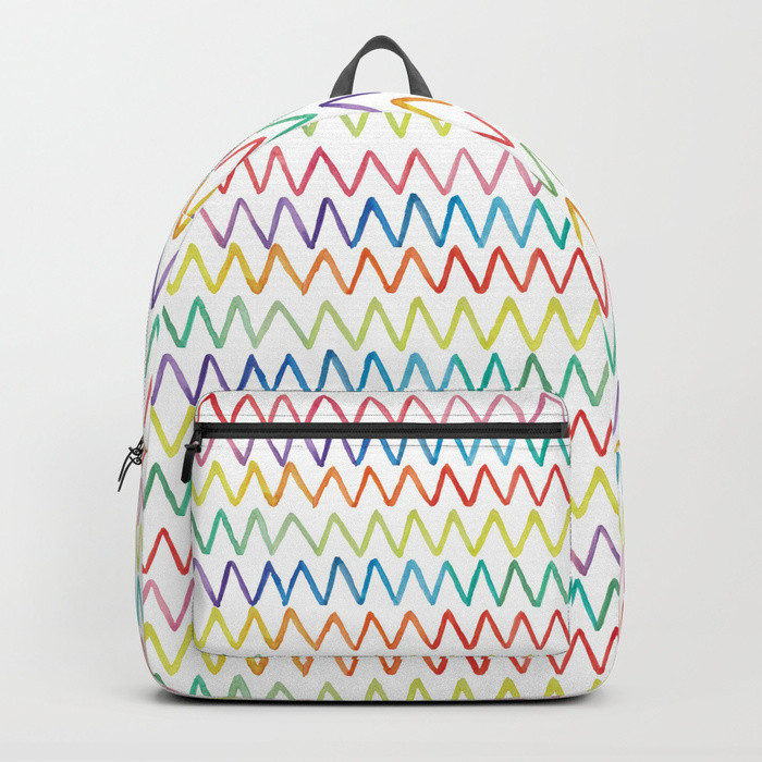 Backpack It's All About the Rainbow
