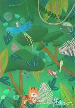 flekn jungle print