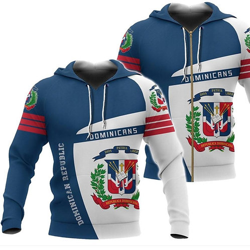 Hoodie Escudo República Dominicana