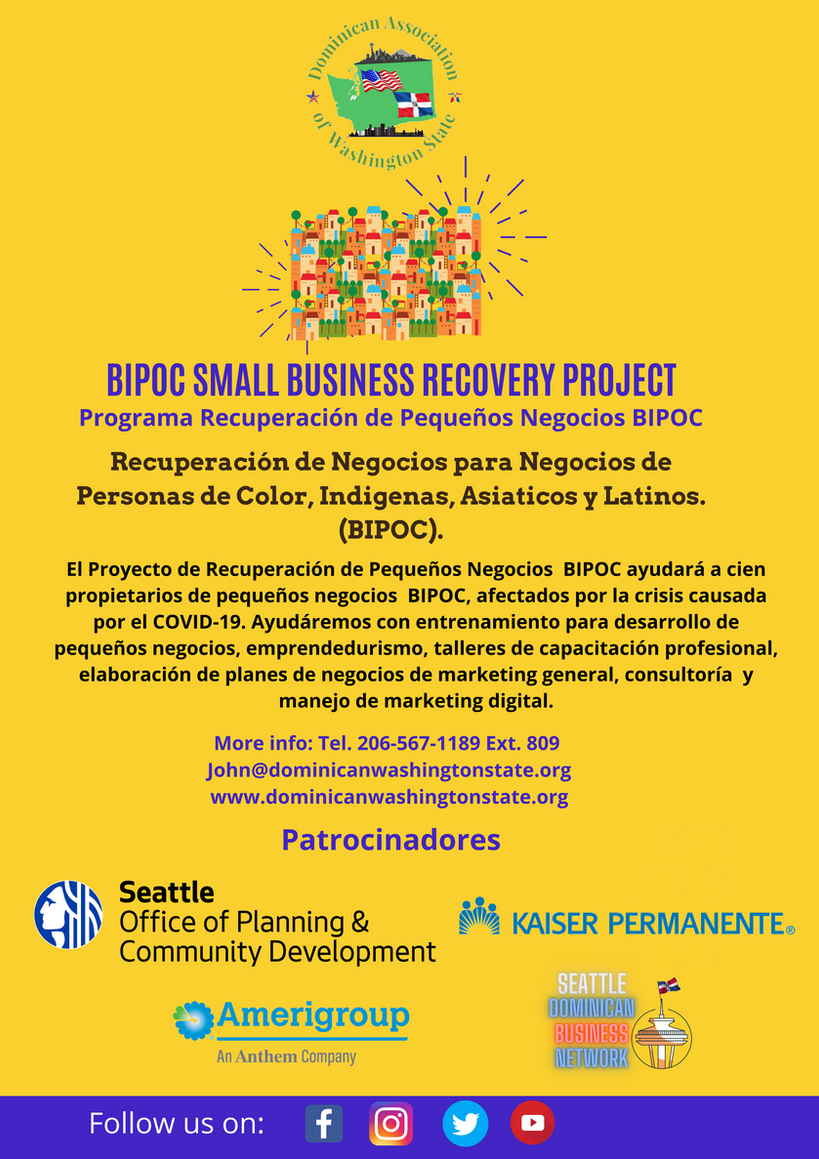 SpanishBIPOC-SMALL BUSINESS RECOVERY PRO