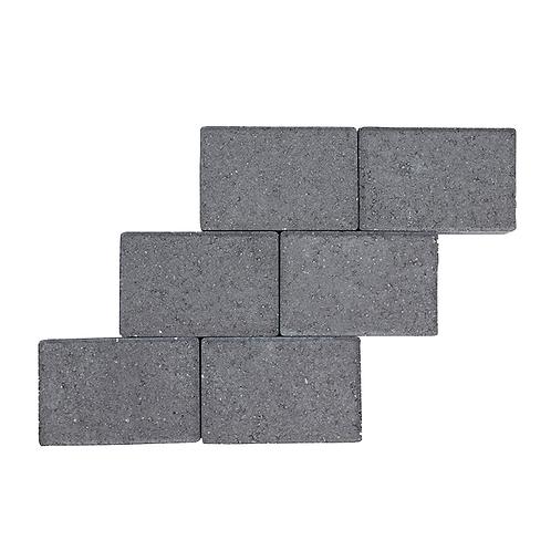Herregårdssten - Mørk - 14x21x5,5 cm