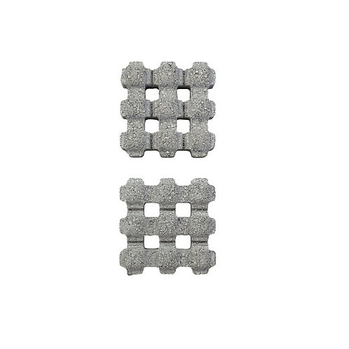 Græsarmeringssten - G75 - 21 x 21 x 7,0 cm