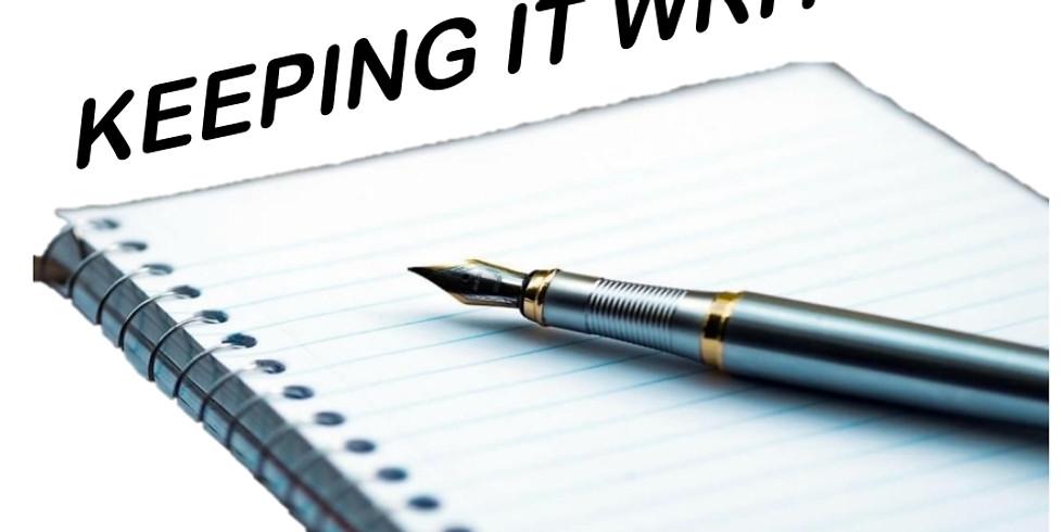 Keeping It Write! Program Book Signing