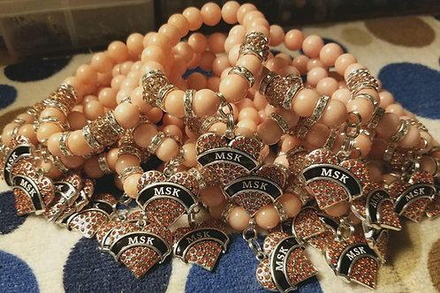 MSK Beaded Bracelets by Geisele's Gems
