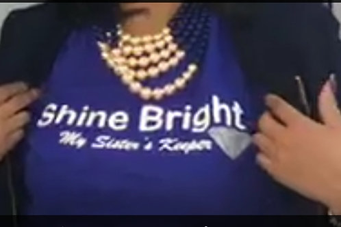Shine Bright MSK Tee