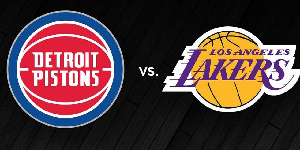 Pistons vs Lakers Fundraiser