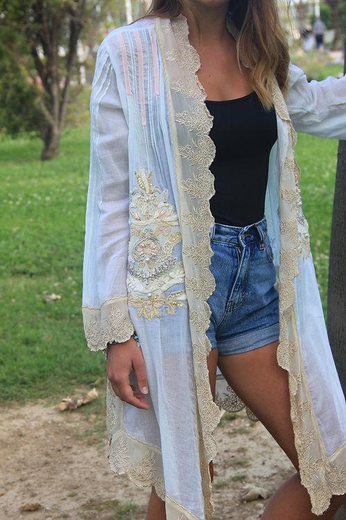 Kimono GadoGado Ivoire / Aqua