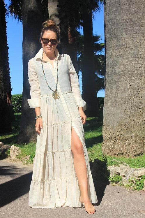 La robe longue SABLE EXETERA