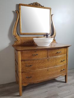 Antique Dresser Vanity