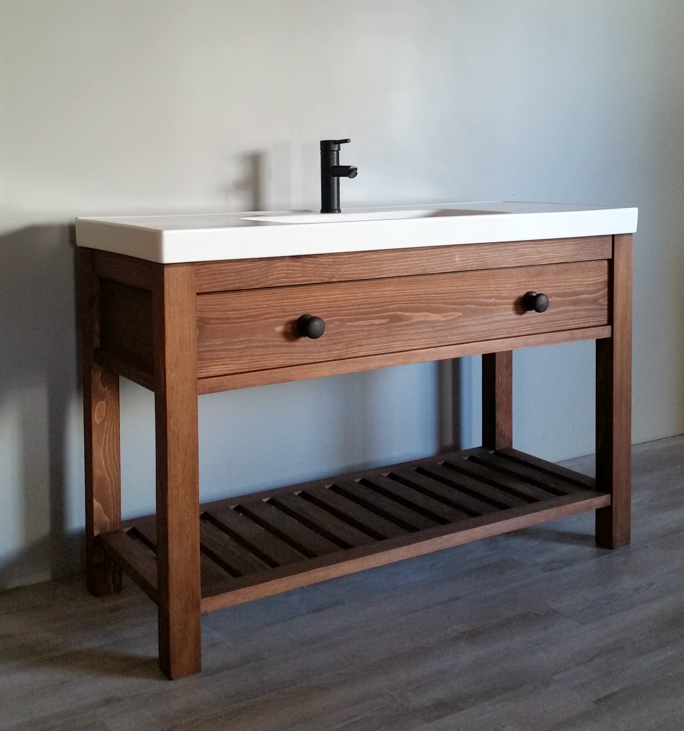 Modern Farmhouse Bathroom Vanity