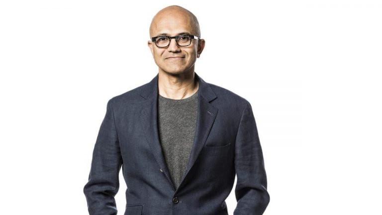 Satya Nadella. Foto Microsoft