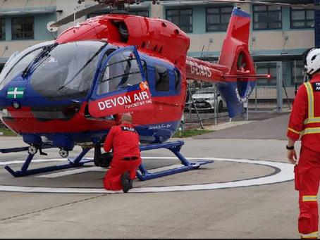 Proud to support Devon Air Ambulance