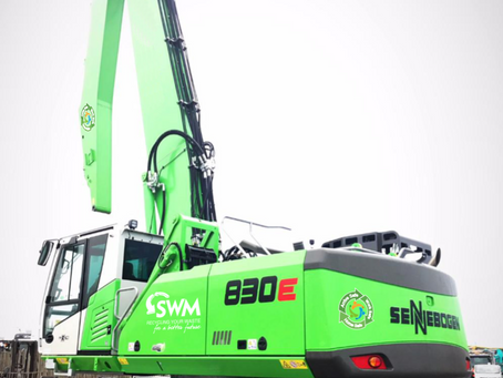 SWM invest £1/4million in state of the art Materials Handling Machine