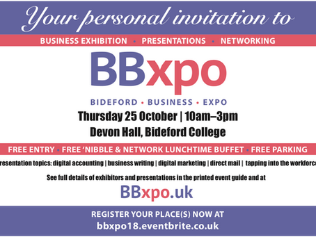 Visit us at Bideford Business Expo