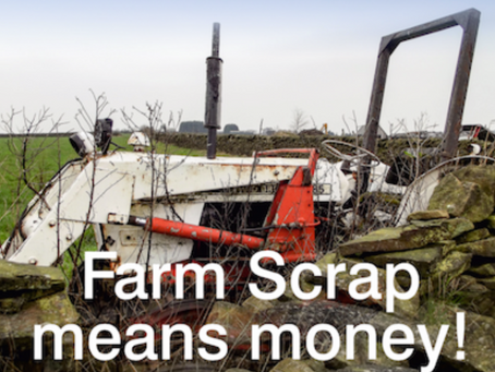 Farm Scrap Means Money