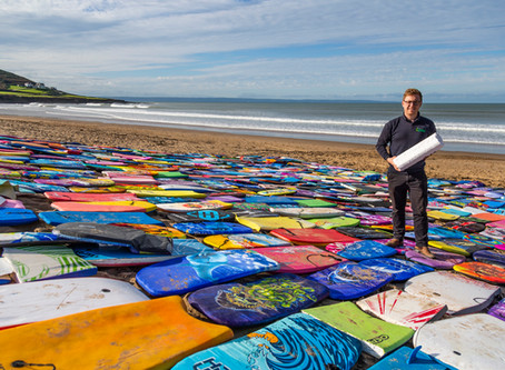 Recycling surf boards with Beach Care