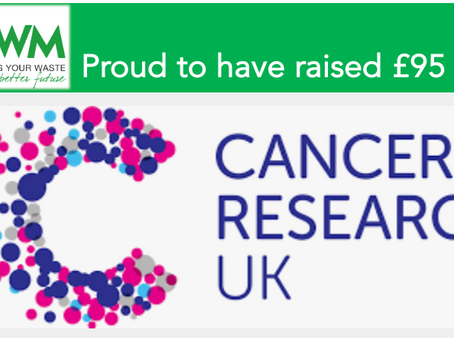 Customers help raise £95 for Cancer Research UK