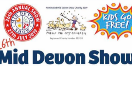 Join us at the Mid Devon Show