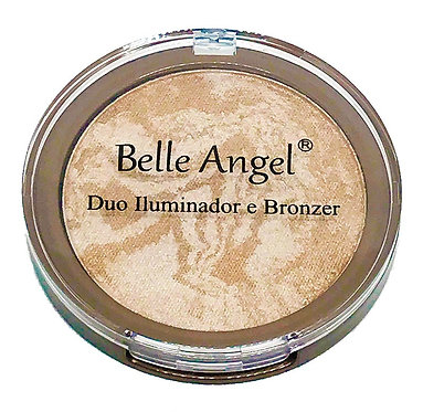 Duo Iluminador e Bronzer Belle Angel