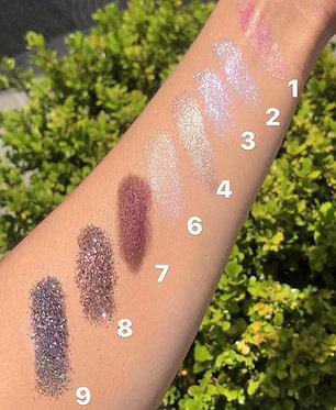 Glitters e pigmentos - Michele Pamela