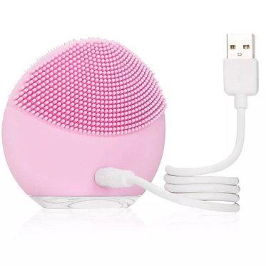 Escova De Limpeza Facial Massageador Recarregável- Under Girl - AJ001