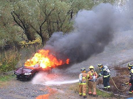 Car Fire Mark Butler