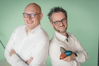 Arnaud D'Hoine et Adrien D'Hoine