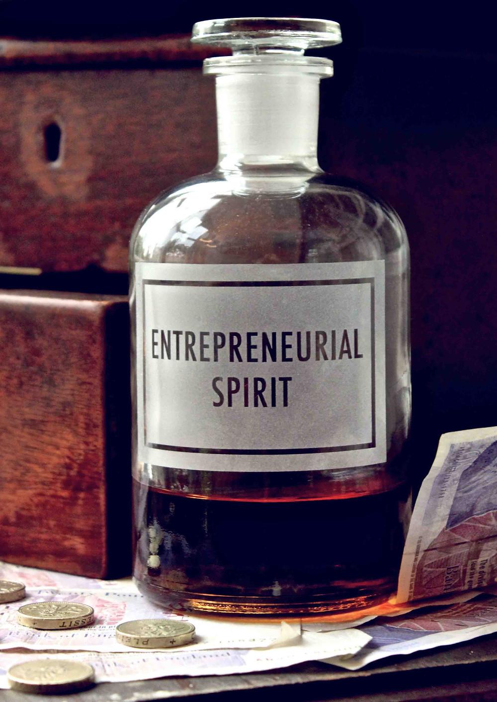 Smells like entrepreneur spirit