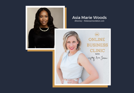 64| How To Legally Protect Your Business with Asia Marie Woods