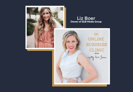 60  How To Create Monthly Content That Will Create Client Demand FAST with Liz Boer