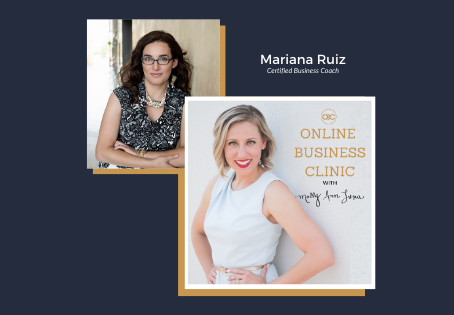 51 | How to Fill Your Group Program to Impact More People while Working Less with Mariana Ruiz