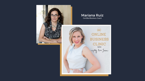 How to Fill Your Group Program to Impact More People while Working Less with Mariana Ruiz