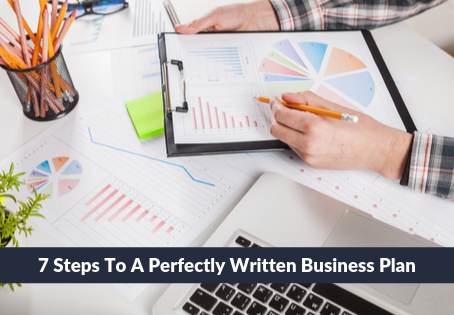 19   7 Steps To A Perfectly Written Business Plan