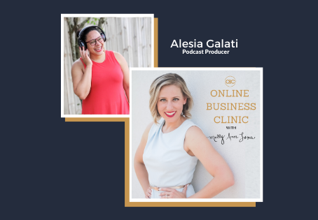 61  How To Launch + Maintain a Lead Generating Podcast with Alesia Galati