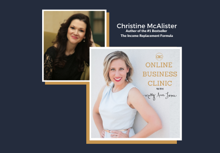 42. How To Replace Your Income In 7 Simple Steps with Christine McAlister