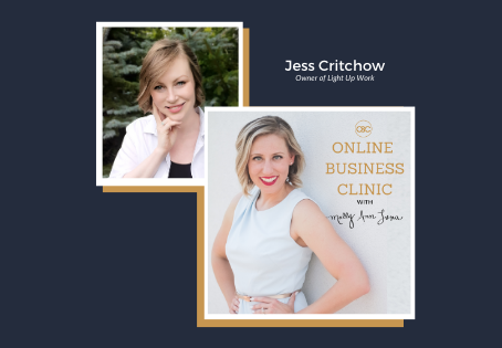 55| How To Build Confidence and Get Started (even if you think you're not ready) with Jess Critchow