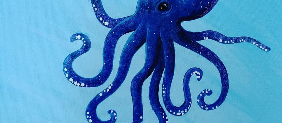 My Blue Octopus Teacher/Friend