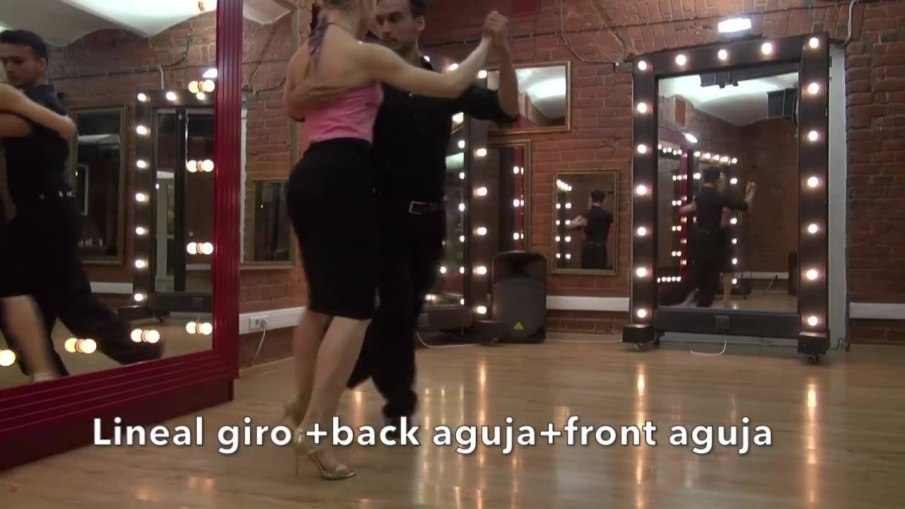 Lineal giros+Back aguja+front aguja
