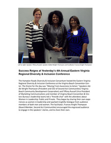 Eastern Virginia Regional Diversity & Inclusion Conference