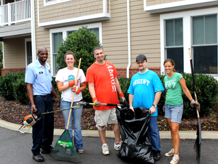 """""""Day of Caring"""" Returns to VBCDC"""
