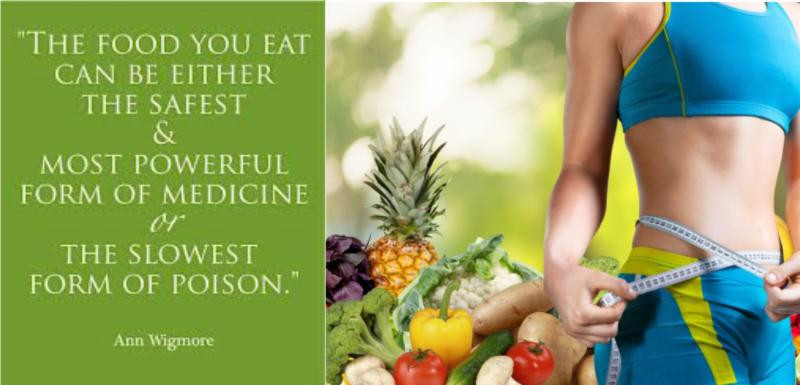 The food you eat can be either the safest & most powerful from of medicine or the slowest from of poison.