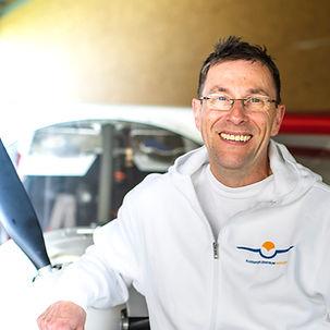 Flugschule Mengen, Carsten Voight