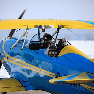 Flugschule Mengen, Flugzeug schulung