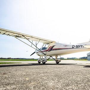 Flugschule Mengen, Flugzeug comco c 42 c