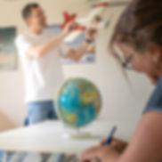 Flugschule Mengen, Ausbildung