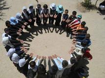 Afghan School Students
