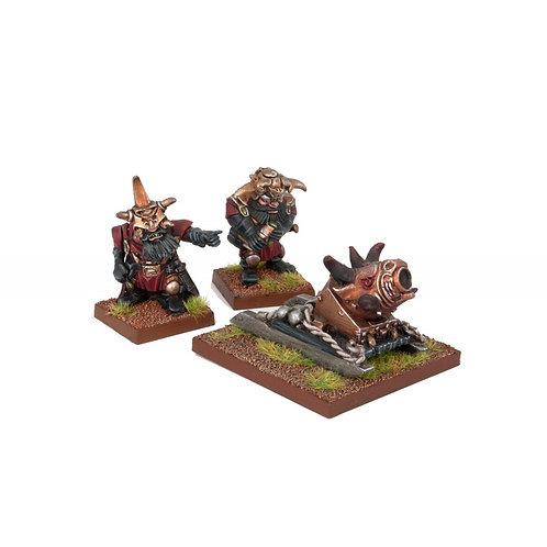 Abyssal Dwarf G'rog Light Mortar