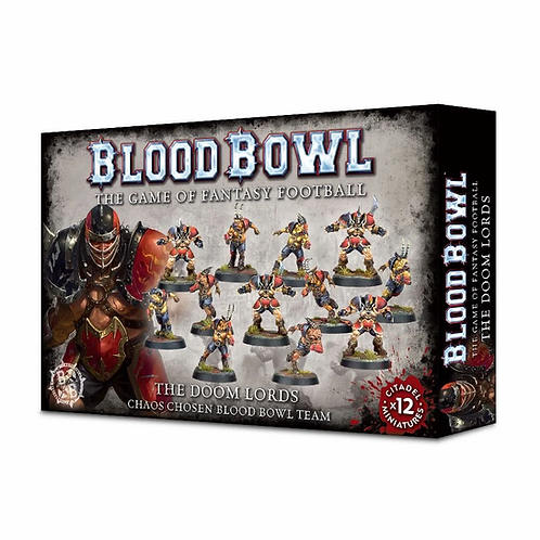 BLOOD BOWL : The Doom Lords - Chaos Chosen Team