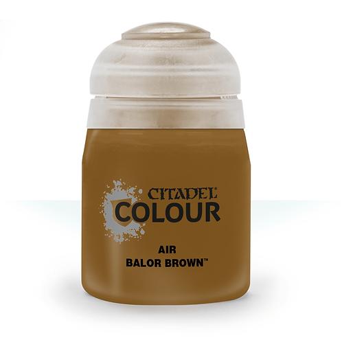 CITADEL AIR: Balor Brown